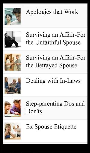 【免費生活App】Marriage Improvement Lists-APP點子