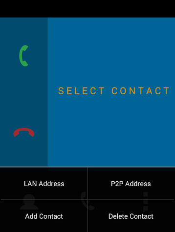WiFi Phone Screenshot