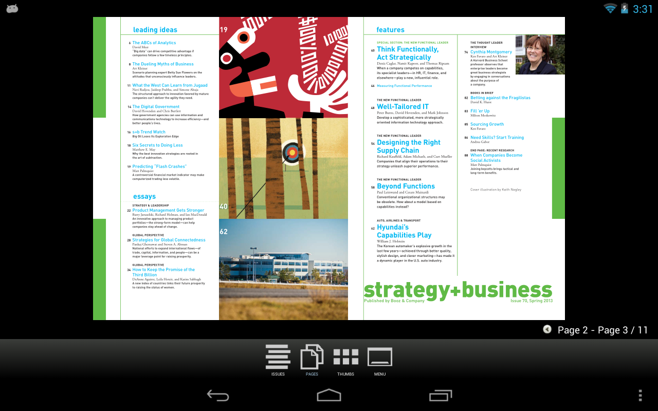 strategy+business magazine - screenshot