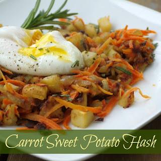 Sweet Potato Carrot Hash