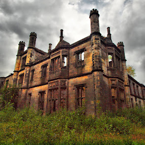 Abandoned Scotland (Dunmore House) by Martin Hughes - Buildings & Architecture Decaying & Abandoned (  )