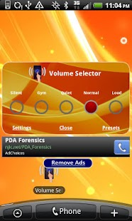Volume Selector Free - screenshot thumbnail