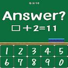 Verbal arithmetic icon