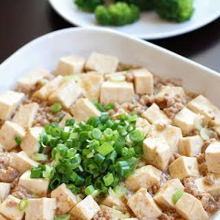 Ground Pork and Tofu Stir Fry.