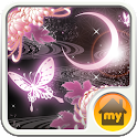 moonlight butterfly Theme icon