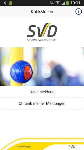 Lob-Kritik Ideen SVD Detmold