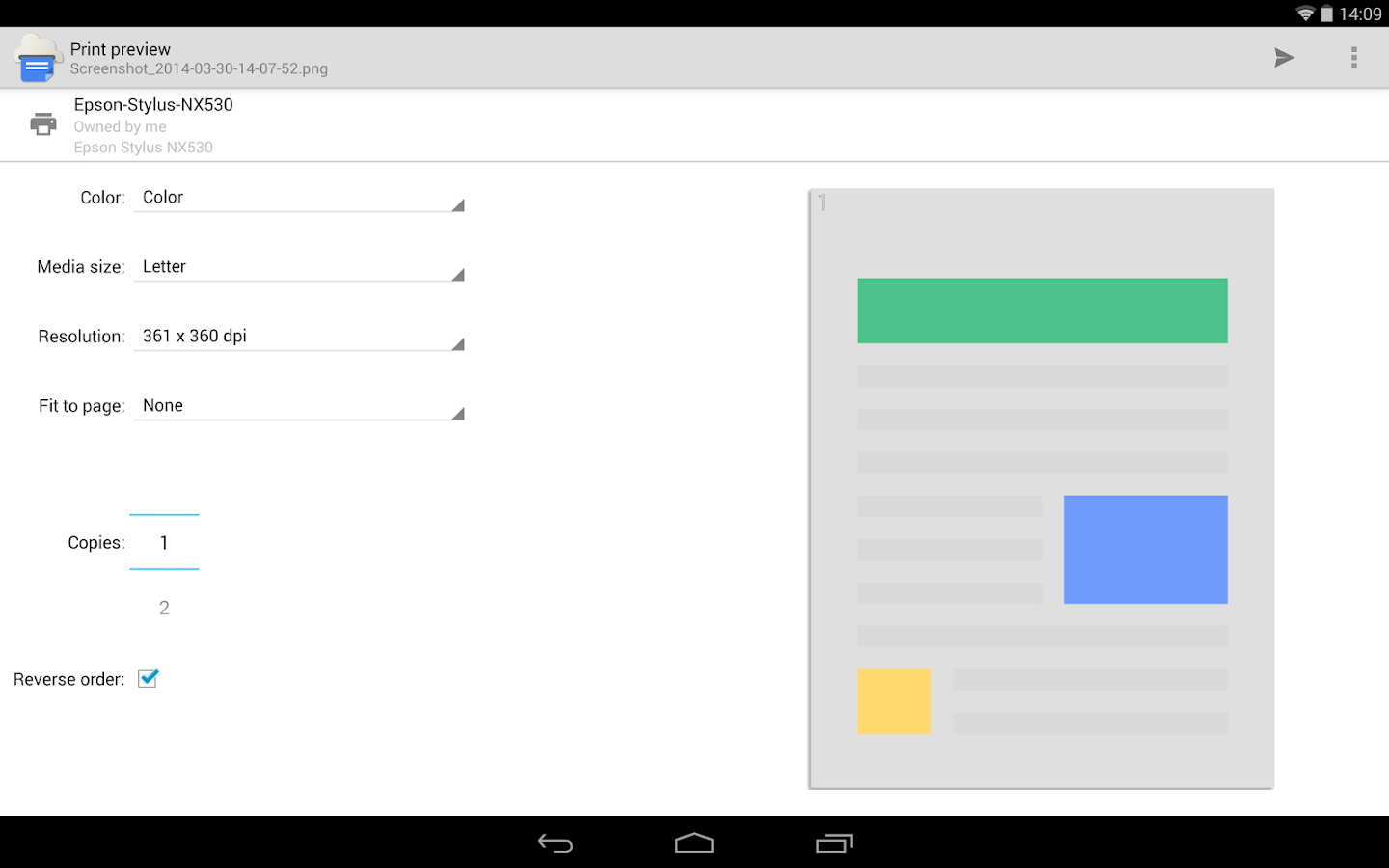 Cloud Print - Android-Apps auf Google Play