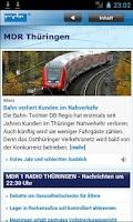 Screenshot of MDR Thüringen