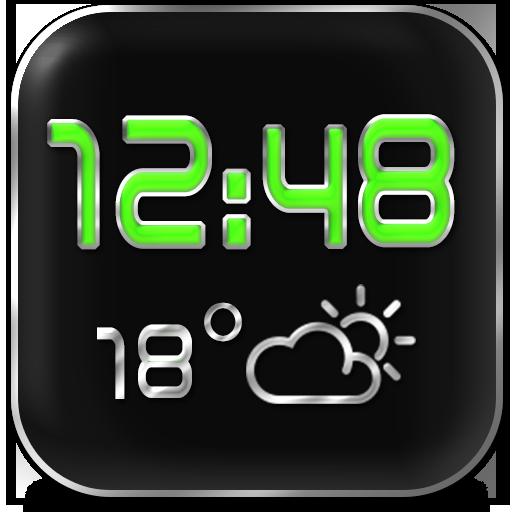 LED 天気時計ウィジェット 天氣 App LOGO-硬是要APP