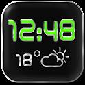LED Digi Clock Weather Widget icon