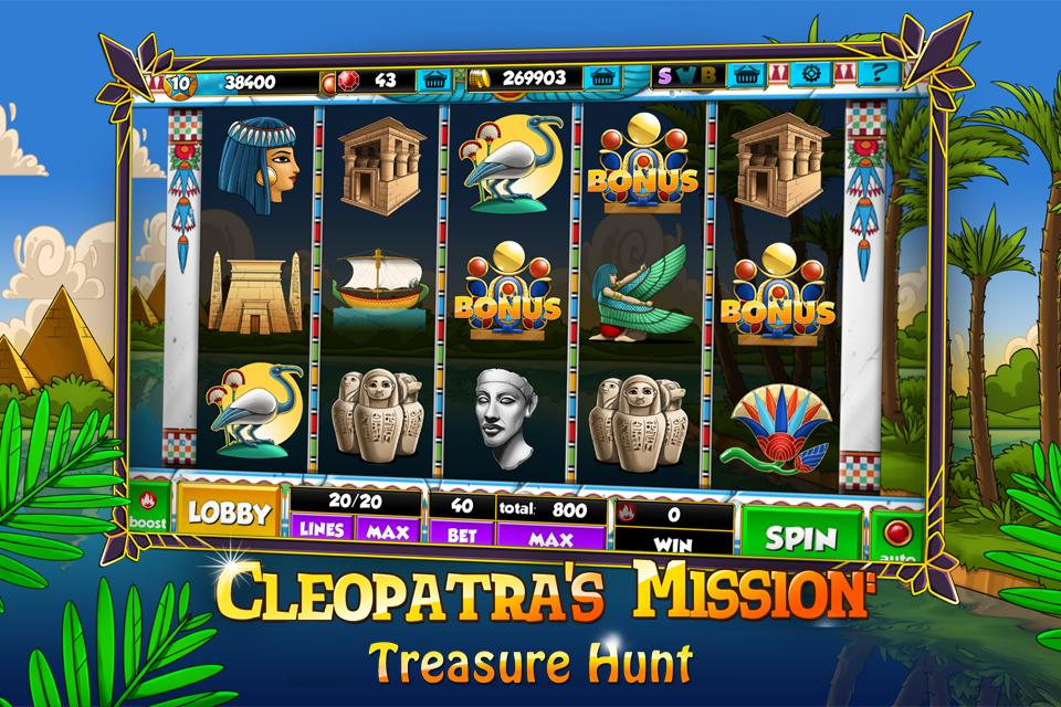 free play slot machine cleopatra