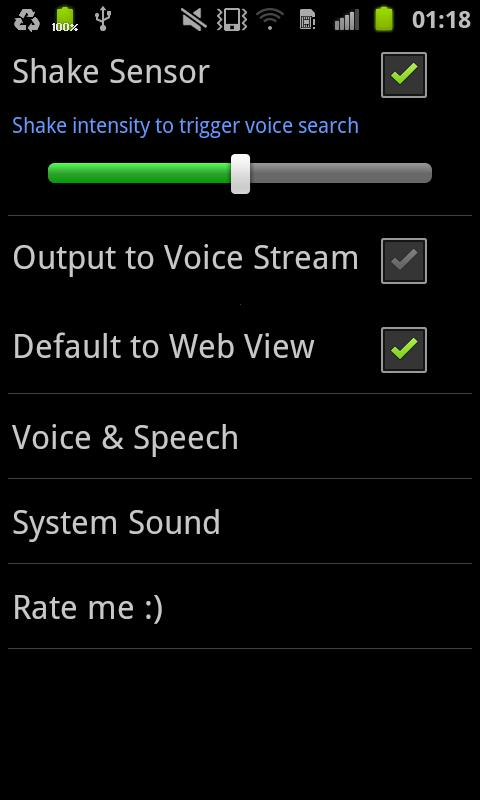 Voice Wiki - screenshot