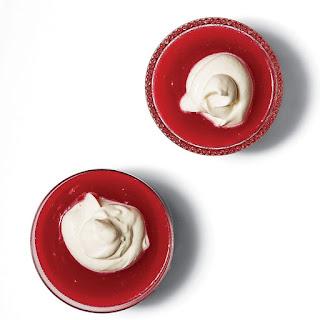 Rødgrød med Fløde (Danish Red Berry Pudding with Cream)
