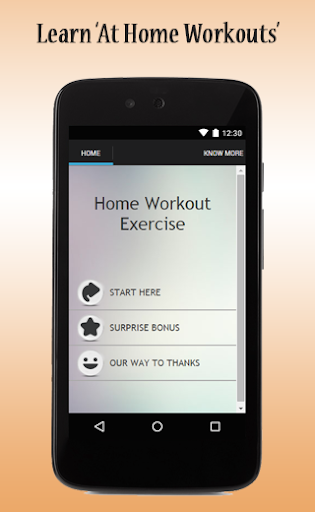 Home Workout Exercise Guide