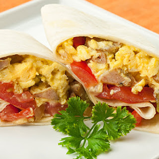 Country Style Breakfast Burritos