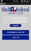 Screenshot of Shell FCU Mobile Banking