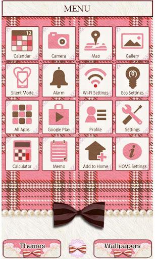 Pink Plaid Wallpaper Theme 1.5 Windows u7528 2