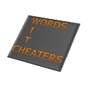 Words With Cheaters