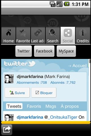 Mark Farina by mix.dj - screenshot