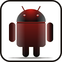 Droid doo-dad red glow icon