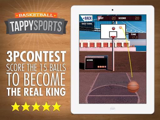 Tappy Sport Basketball NBA Pro Stars 1.6.19 screenshots 11