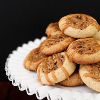 Pecan Pie Thumbprint Cookies