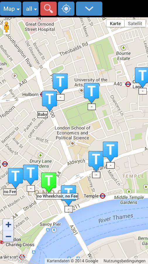 Toilet Finder - screenshot