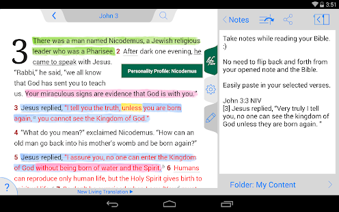 Life Application Study Bible- screenshot thumbnail