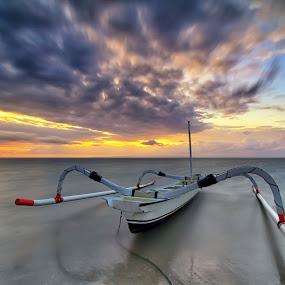 by I Made  Sukarnawan - Transportation Boats