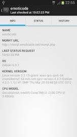 Monyt - Server Monitor Screenshot 2