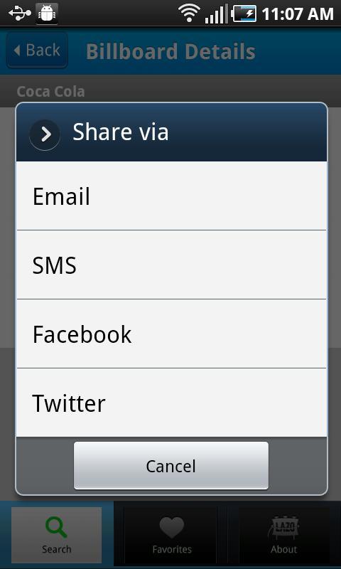 Lazo- screenshot