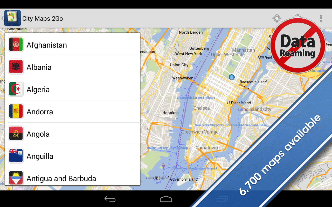 ANDROID City Maps 2Go Pro fline Maps up to v3 10 2
