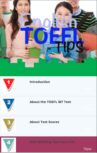 english TOEFL tips