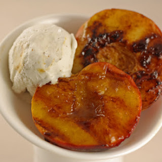 Grilled Peaches.