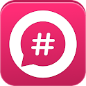 BroadTags: the Hashtag Network icon