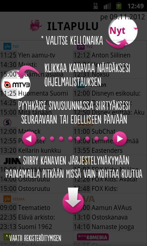 Iltapulu.fi TV-opas - screenshot