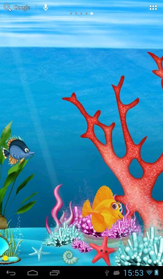 Painted aquarium android apps on google play for Fish tank paint