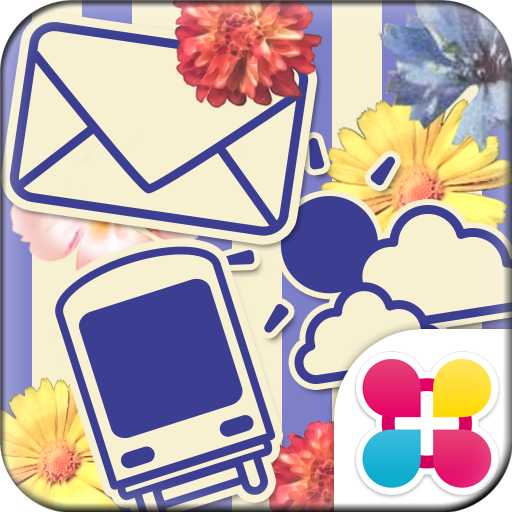 +HOMEアイコンパック VIVA Flower! Icon