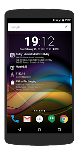 Chronus: Home & Lock Widgets Screenshot