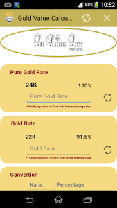Gold Value Calculator screenshot 0