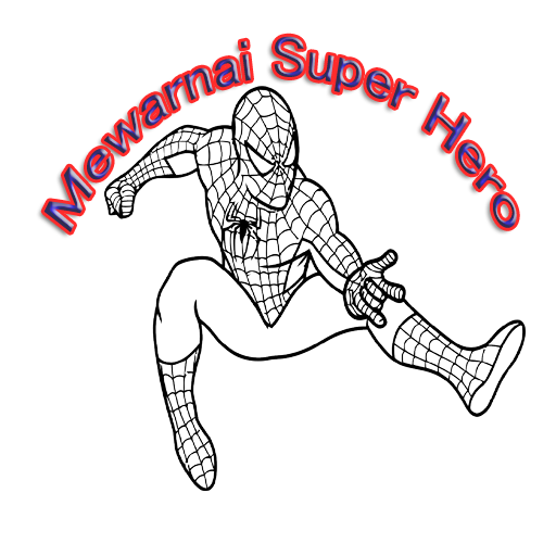 Mewarnai Super Hero