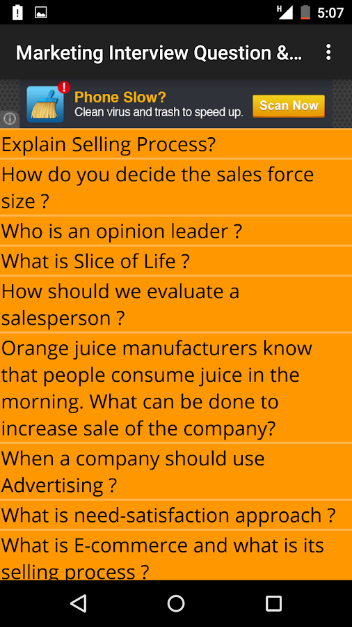 ecommerce interview questions
