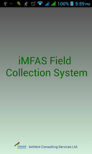 iMFAS Field Collection System