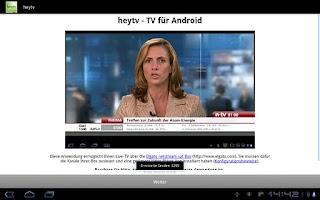 Screenshot of heytv - TV for Android