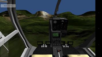 Screenshot of Helicopter simulator