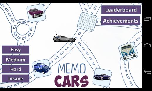 Memo Cars HD