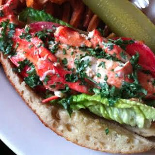 Cafe Miranda Lobster 'Roll'.