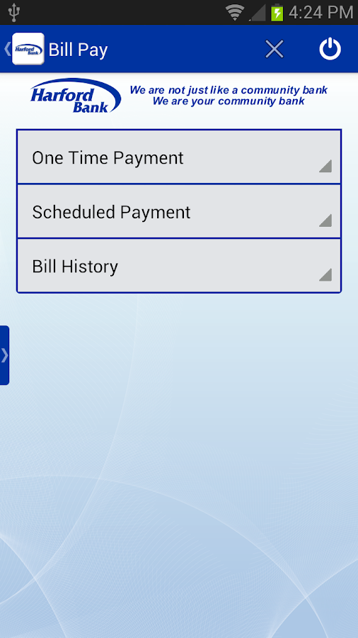 Harford Bank Mobile Banking - screenshot