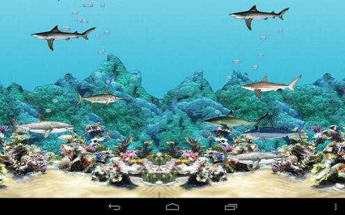 Abubu oceano sfondo animato app su google play for Sfondo animato pesci