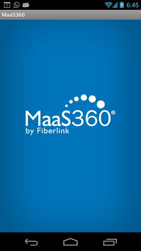 MaaS360 Browser
